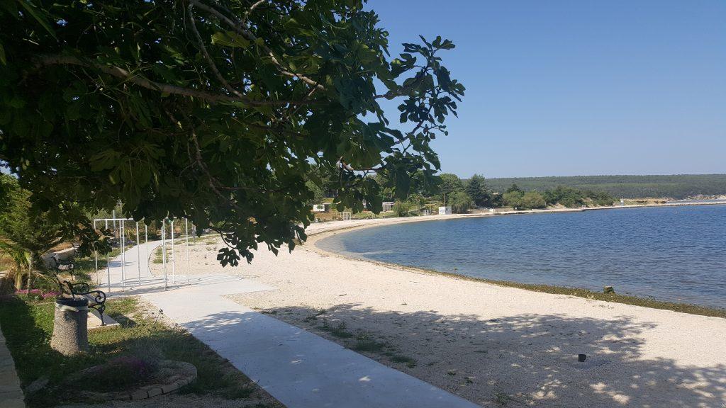 Der Strand in Kroatien - www.spurwechsel-team.de